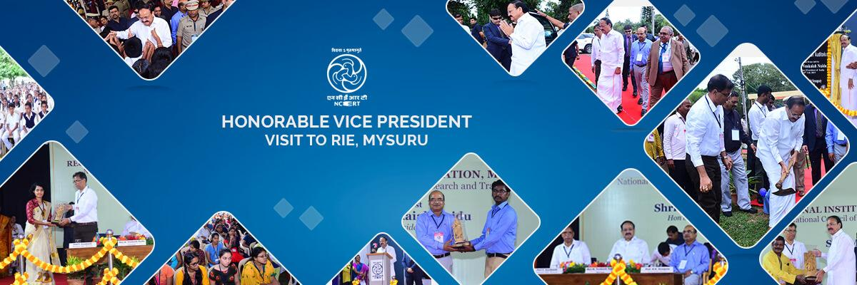Vice president visit to rie